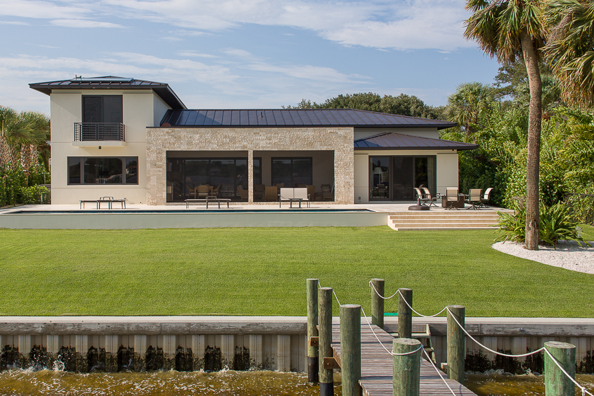 Loxahatchee riverfront home h allen holmes inc for Riverfront home designs